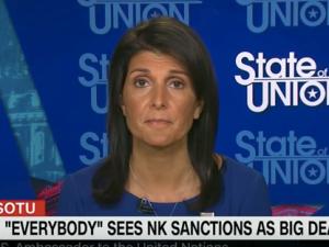 UN Ambassador Nikki Haley on CNN's State of the Union.