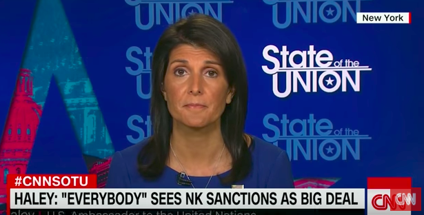 Hawk Haley Would Be 'Happy' to Hand Mattis North Korea Issue