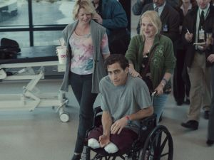 Patty O'Neil, Jake Gyllenhaal and Miranda Richardson in Stronger.