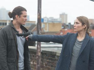 Orlando Bloom and Noomi Rapace in Unlocked.