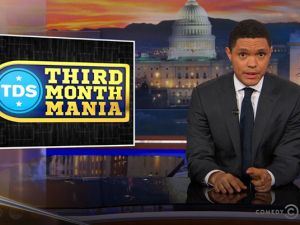 Trevor Noah hosts The Daily Show.