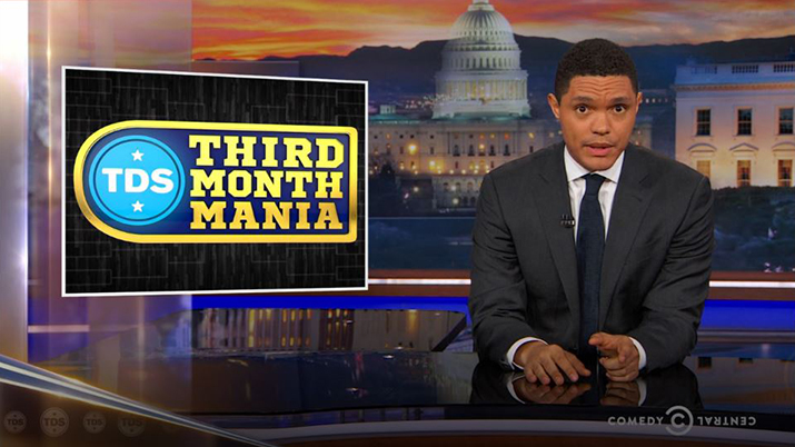 Trevor Noah Says Comedy Helps the Country Cope With Polarized Politics