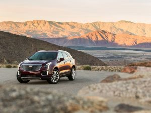The 2017 Cadillac XT5 SUV.