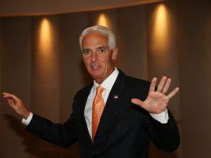 Former Florida Gov. Charlie Crist.