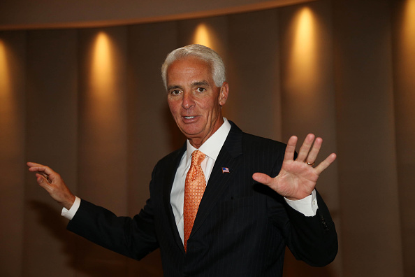 Charlie Crist Once Stayed With Melgen and Family