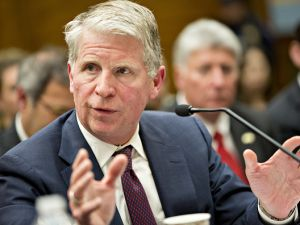 Manhattan District Attorney Cyrus Vance speaks during a House Judiciary Committee hearing in Washington, D.C.