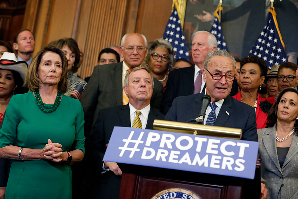 Schumer Accuses Trump of Not Making 'Good Faith Effort' to Protect Dreamers