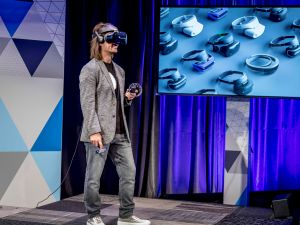 Microsoft is getting into mixed and virtual reality.
