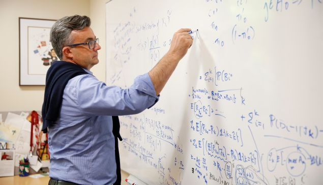 2017 MacArthur Fellow Emmanuel Candès.