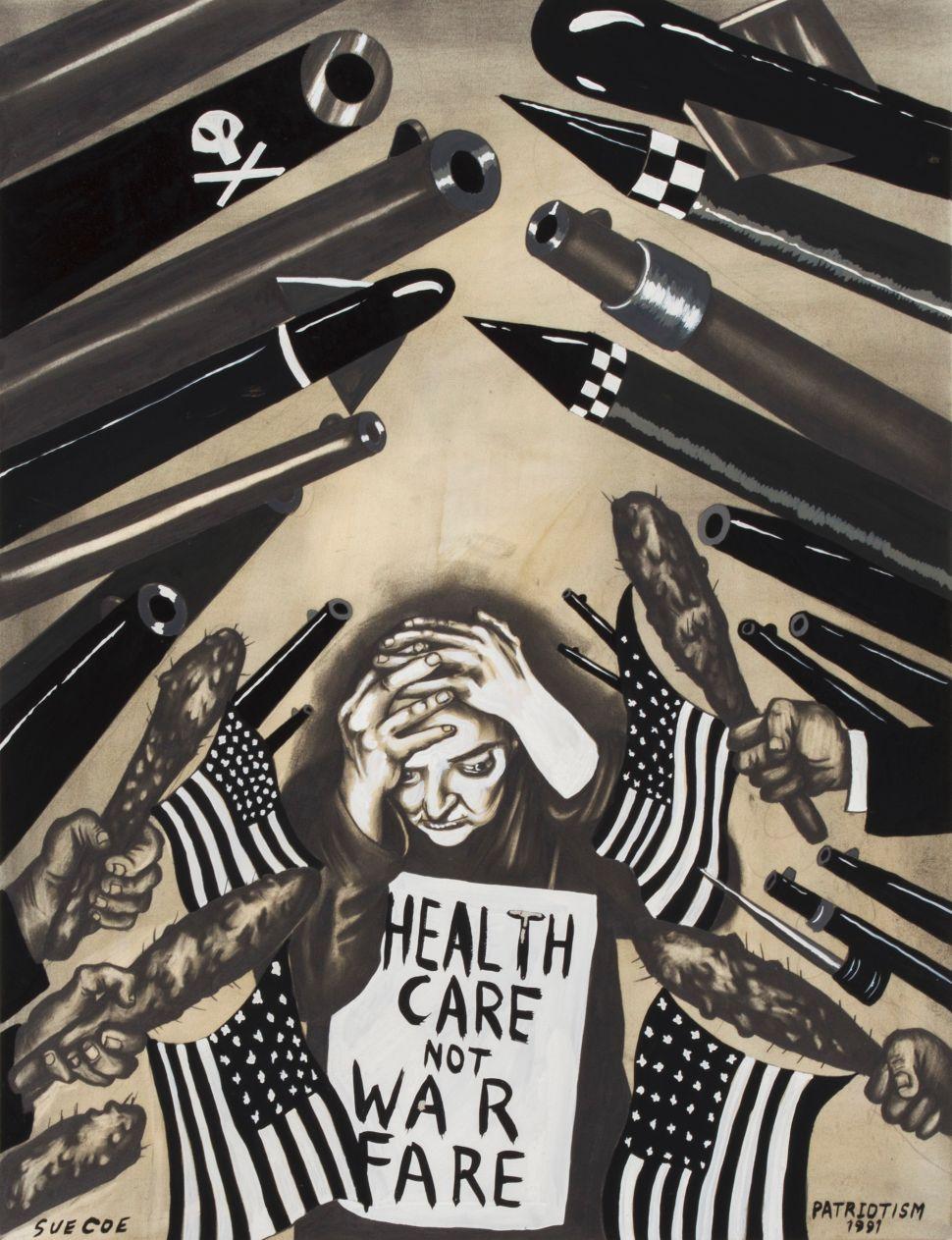A Century Later, Artist Sue Coe Takes Up Käthe Kollwitz's Social Justice Crusade