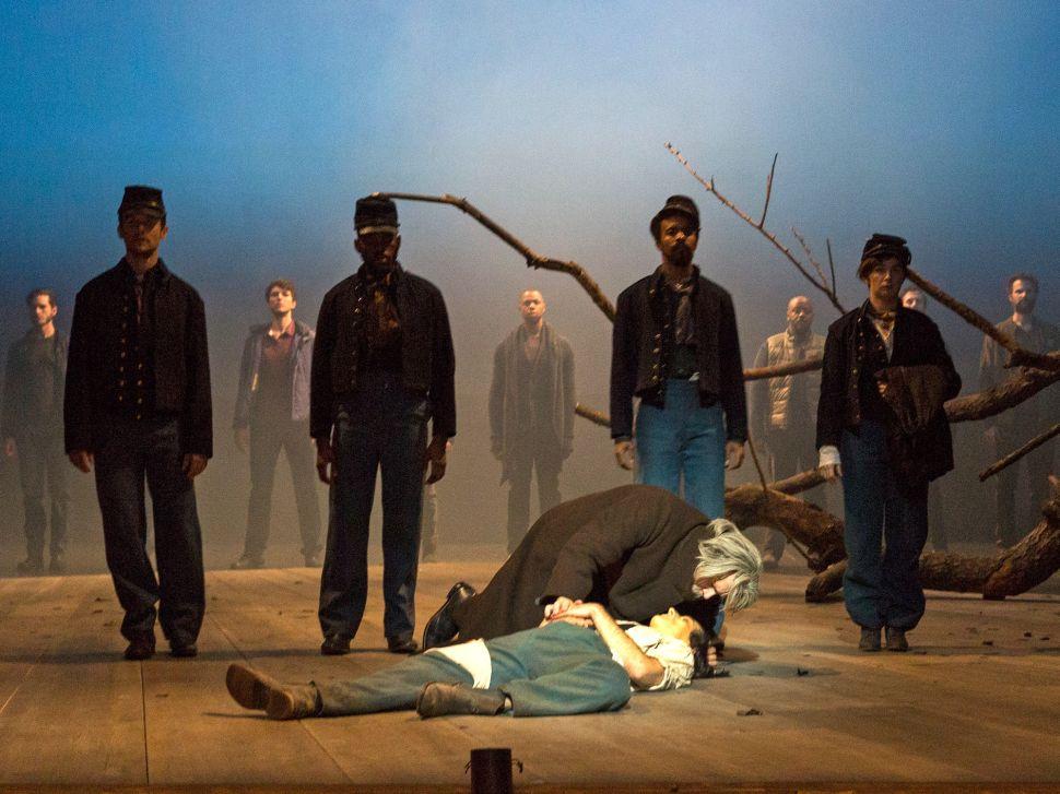 War Is Hellish in BAM's 'Crossing'; Uptown, Angel Blue Soars