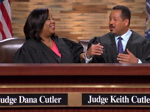 Judge Dana Cutler and Judge Keith Cutler preside over Couples Court.