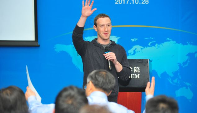 Although Facebook is still blocked in China, the social media site looks to tap ad revenue from Chinese businesses.