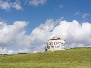 Bob and Roberta Smith, Folkestone is an Art School. Commissioned by the Creative Foundation for Folkestone Triennial 2017.