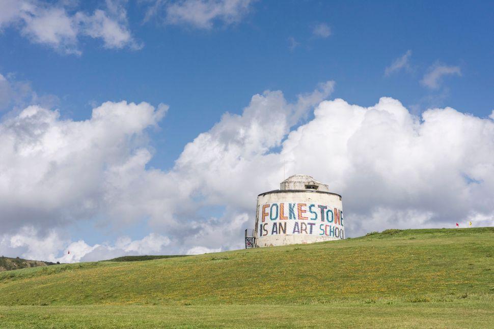 English Coastal Town of Folkestone Transformed by 4th Art Triennial