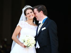 She had a glamorous royal wedding to Christopher O'Neill in 2013.