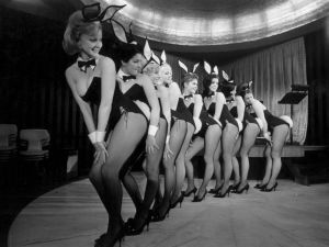 The original Playboy Bunny costume was designed by Zelda Wynn Valdes.