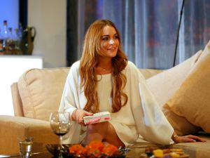 Lindsay Lohan Defends Harvey Weinstein