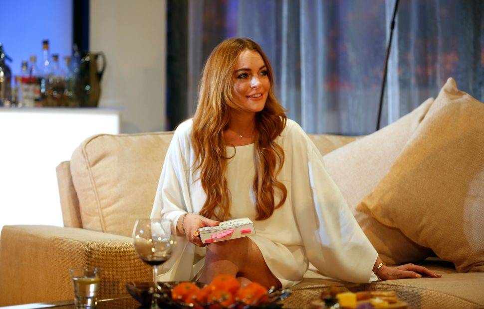 Watch Lindsay Lohan Defend Harvey Weinstein in Since-Deleted Video