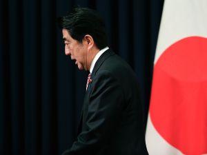 Japanese Prime Minister Shinzo Abe.