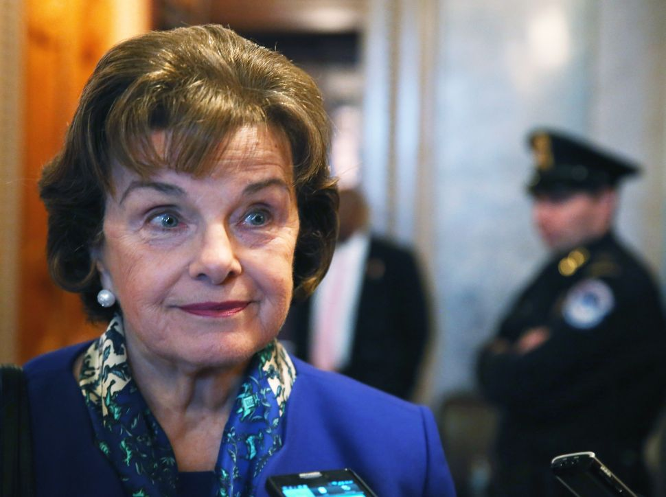 Democrats Can't Afford Another Six Years of Dianne Feinstein