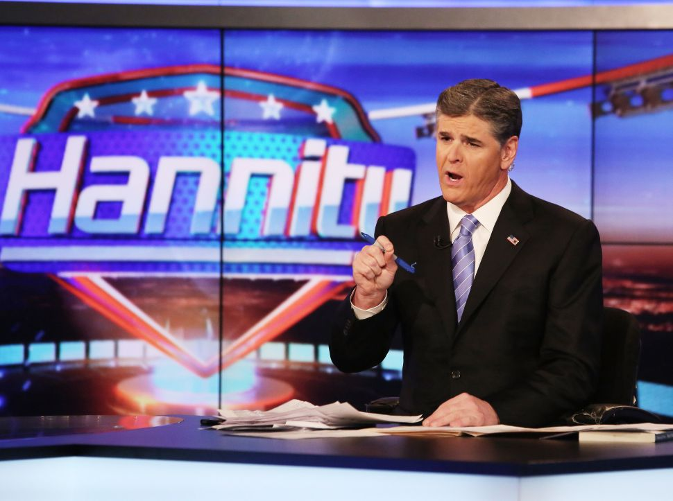Fluffer Sean Hannity Works Overtime to Prove Devotion to Trump