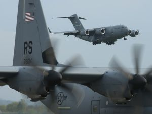 U.S. Air Force planes.