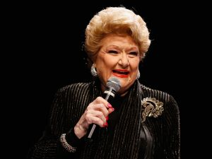 Marilyn Maye at the Sinatra 100 Holiday Spectacular in 2015.
