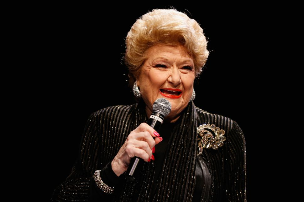 Marilyn Maye Shares Her Secret to a Happy Life at Jazz at Lincoln Center