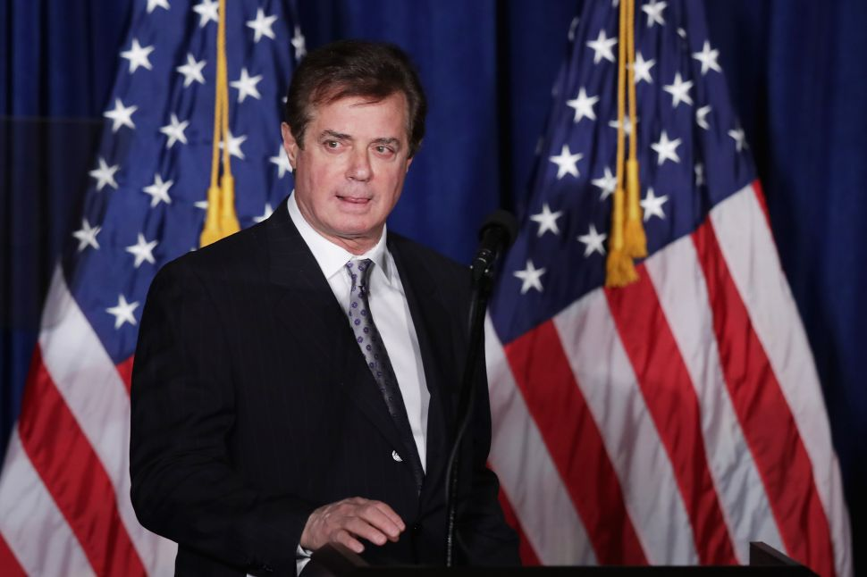 Hollywood Responds to Paul Manafort Indictment