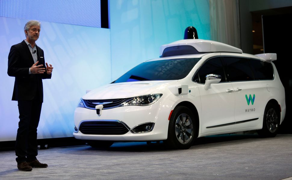 Google's Waymo Leads the Pack in California Self-Driving Car Tests
