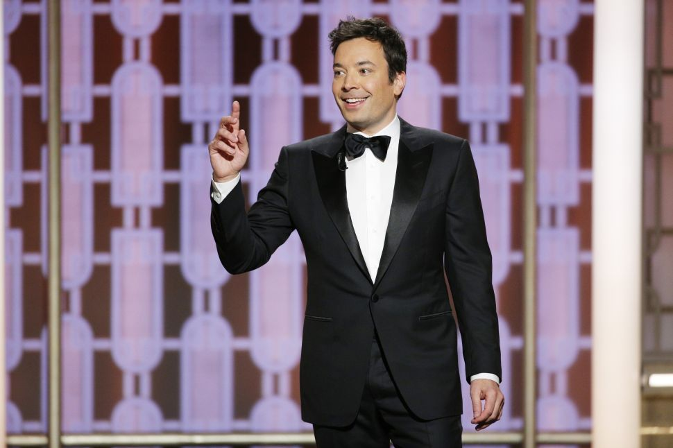 Jimmy Fallon Picked Up a Stranger in the Middle of Storm