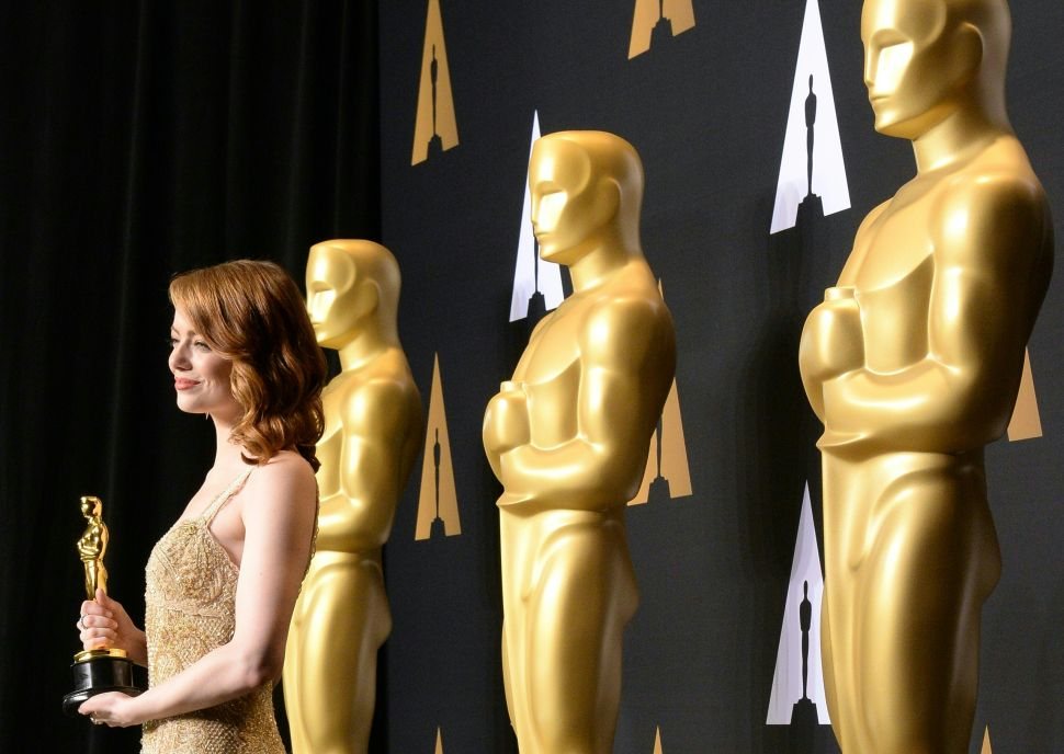 ABC Is Charging a Fortune for Oscars Ads Despite Falling Ratings
