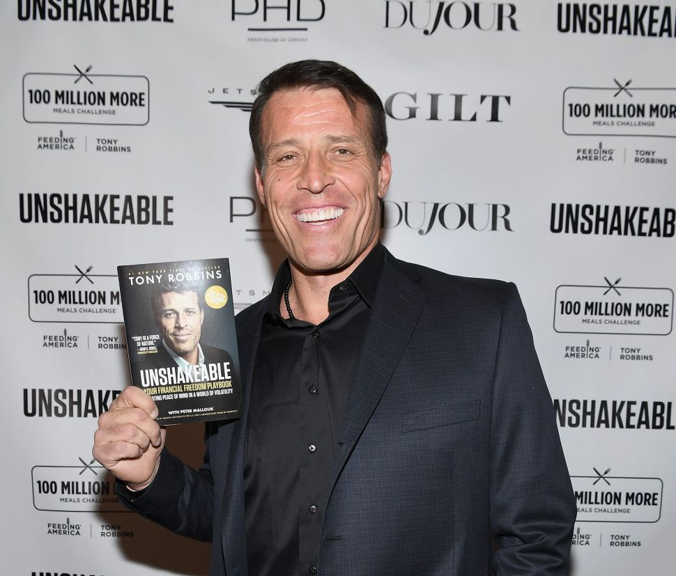 An Open Letter to Tony Robbins: You're Not Helping
