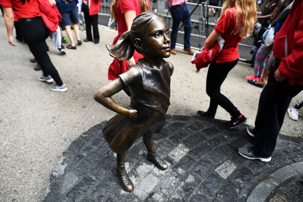 Investment Firm Behind 'Fearless Girl' Statue Settles $5 Million Equal Pay Lawsuit