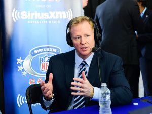 NFL Commissioner Roger Goodell at the 2017 NFL Draft in Philadelphia.