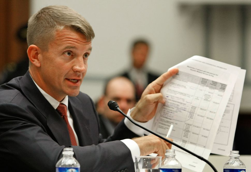 Blackwater Founder Erik Prince Denies Russia Backchannel, Asks for AG Probe