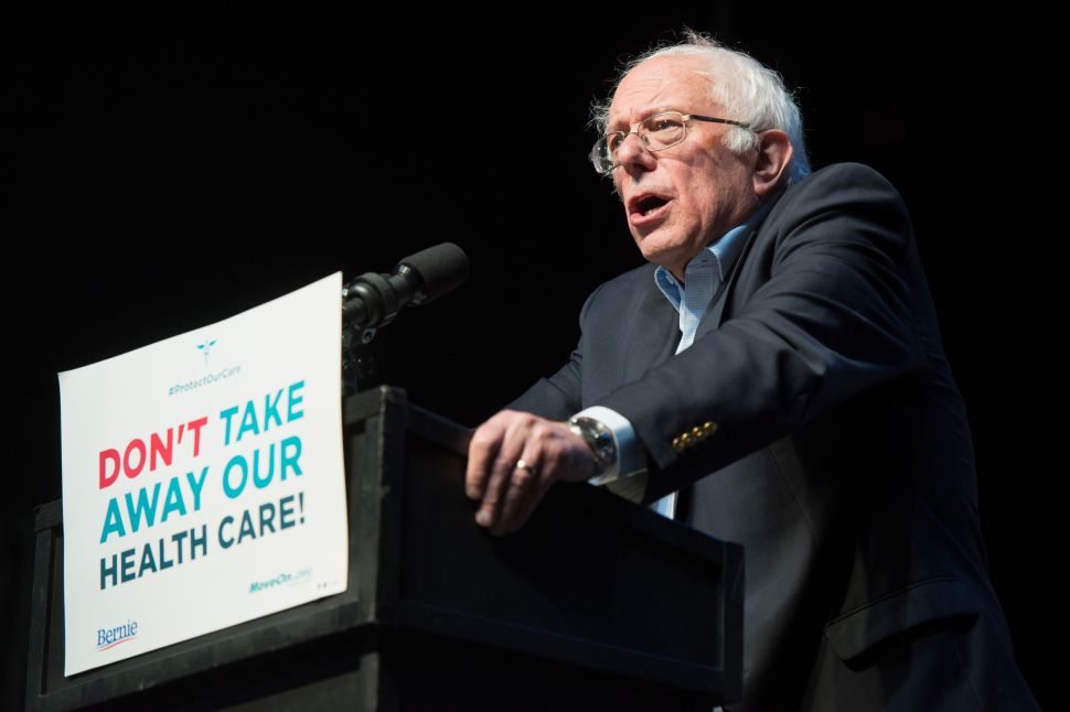 DNC Resolution Tries to Pressure Bernie Sanders to Become a Democrat