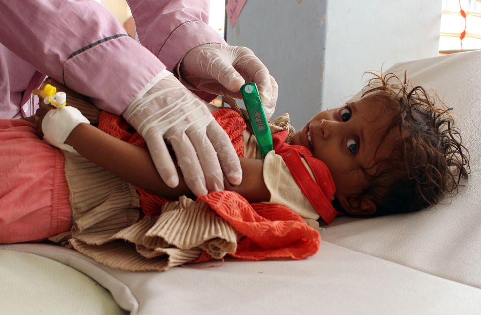 Cholera Outbreak in Yemen Explodes Into Man-Made Crisis