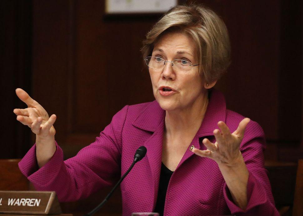 Bankers Won't Forget Warren's Slurs