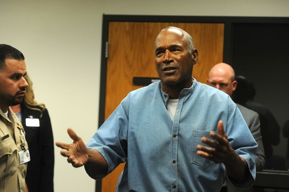 O.J. Simpson Seeking Seven Figures for First Post-Jail TV Interview