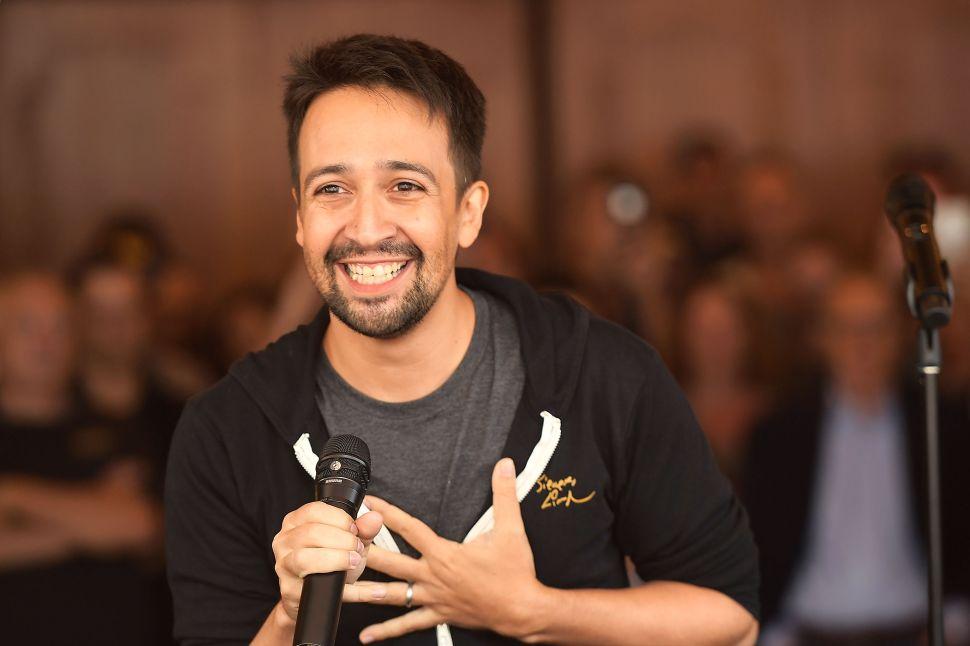 How a Memory Stick Saved Lin-Manuel Miranda's Puerto Rico Charity Single