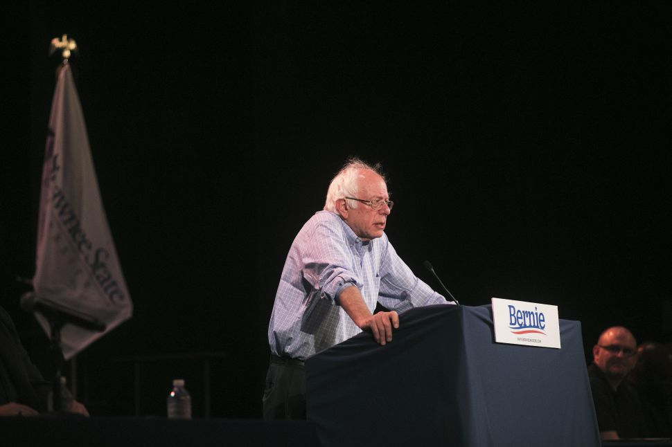 Bernie Sanders: 'The Democratic Party Is in Trouble'