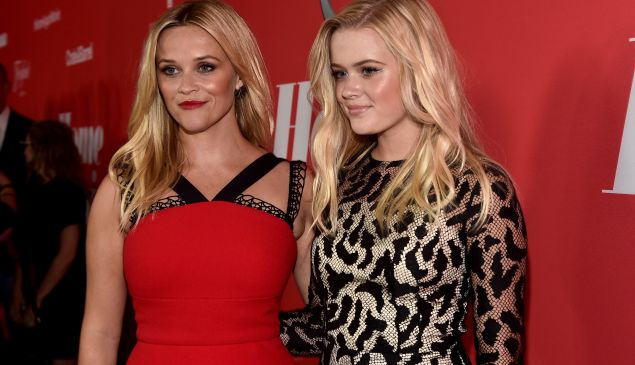 "ctor Reese Witherspoon (L) and Ava Phillippe attend the premiere of Open Road Films' ""Home Again"" at the Directors Guild of America on August 29, 2017 in Los Angeles, California. (Photo by Alberto E. Rodriguez/Getty Images)"