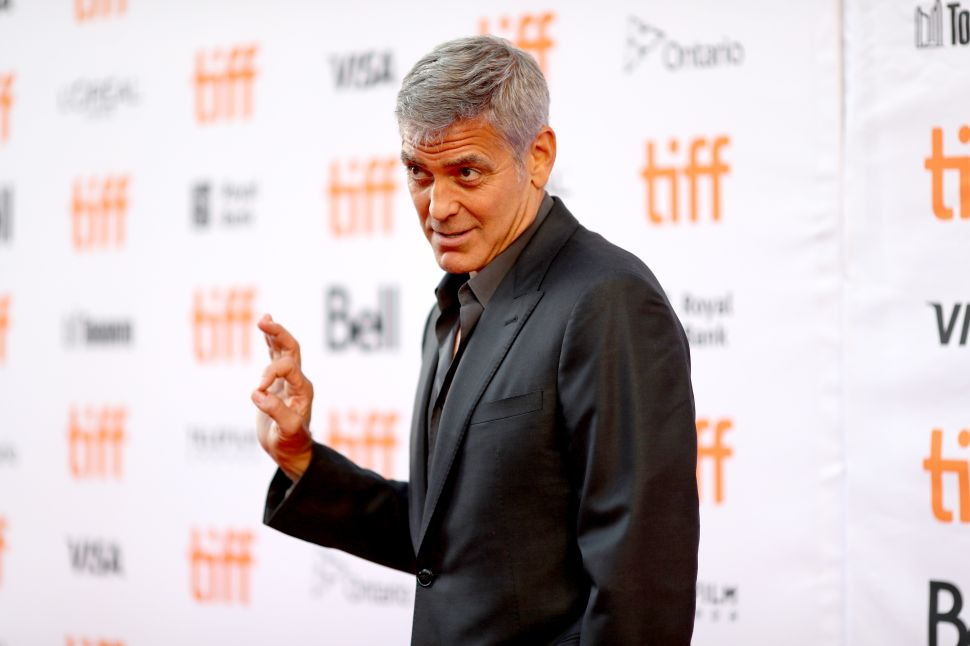 George Clooney Speaks Out About Harvey Weinstein's Sexual Misconduct Allegations