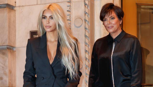 NEW YORK, NY - SEPTEMBER 09: Kim Kardashian and Kris Jenner on September 9, 2017 in New York City. ()
