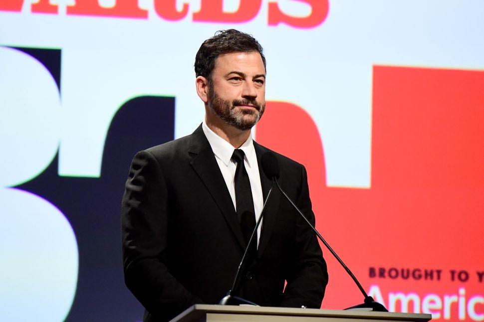 Watch Jimmy Kimmel Tearfully Plead for Gun Control, Slam Republicans