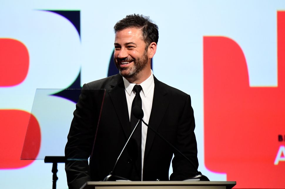 Jimmy Kimmel Says No One on Earth 'Produces More Fake News Than Donald Trump'