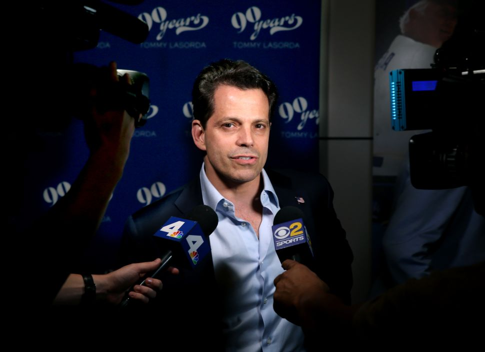 Anthony Scaramucci Hypes 'Center Lane' Media Outlet Launch