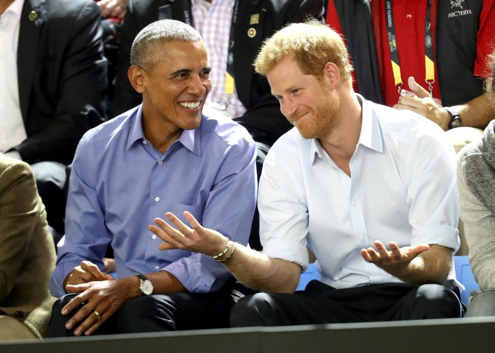 Prince Harry and President Obama's Bromance Will Continue in Chicago